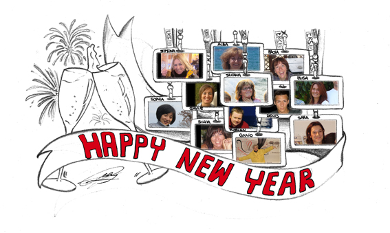 CARTOON H&PC1 2013 HAPPY NEW YEAR