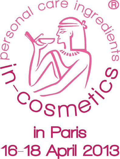 in-cosmeticts Paris 16-18 April 2013