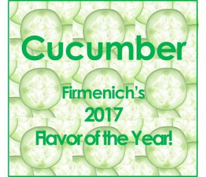 cucumber flavor of the year