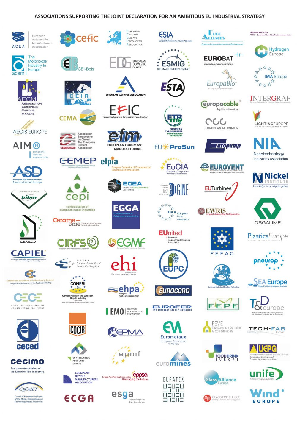 joint declaration Eu industrial policy