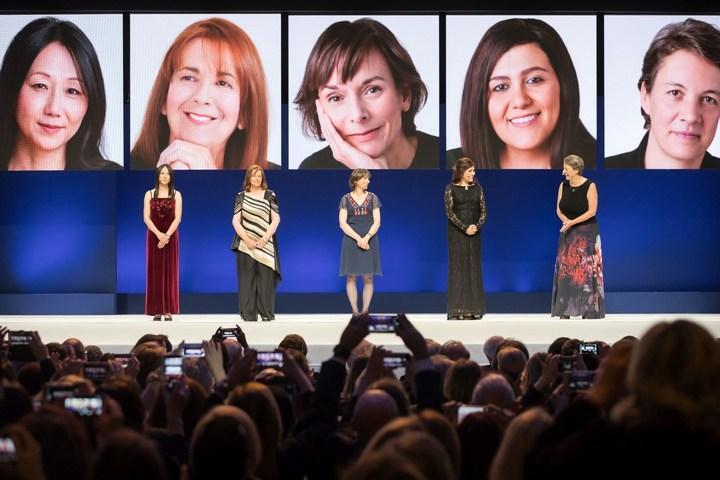 5 women in science awards winners