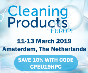 Cleaning products Europe 2019