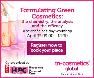 in cosmetics workshop