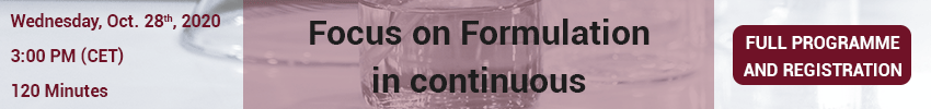 Formulation-in-continuous