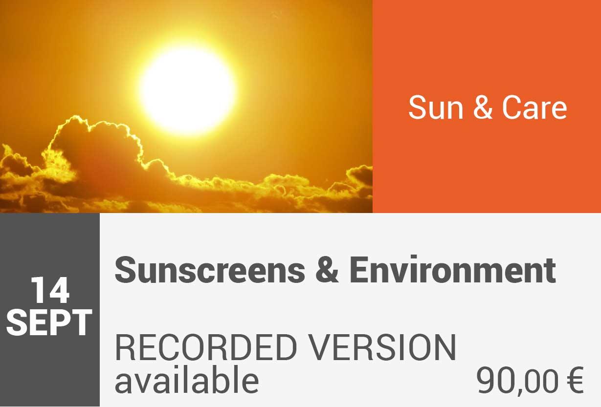 Sunscreens & Environment