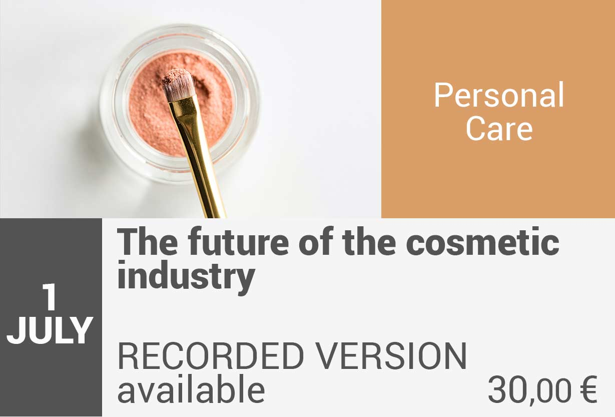 The future of the cosmetic industry
