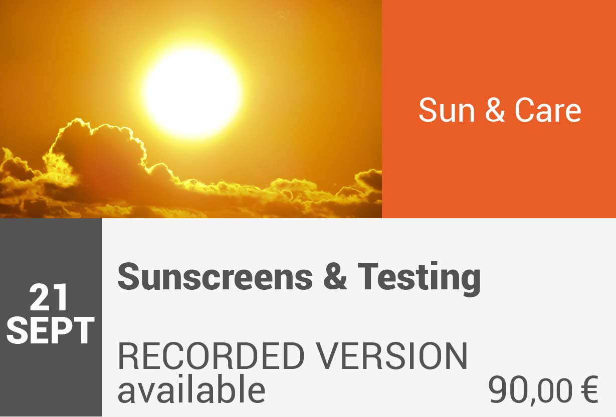 Sunscreens and testing