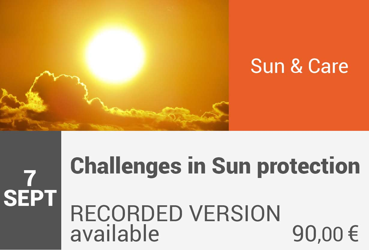 Challenges in Sun protection